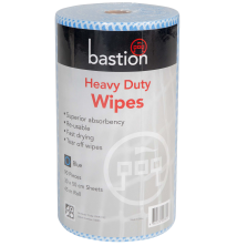 Heavy Duty Wipes - Rolls - 45m - Sheet Size 30x50cm