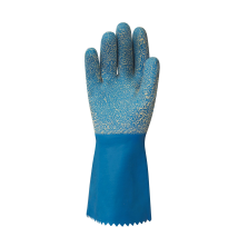 Cottonlined Rubber - Granular Rough Grip Gloves